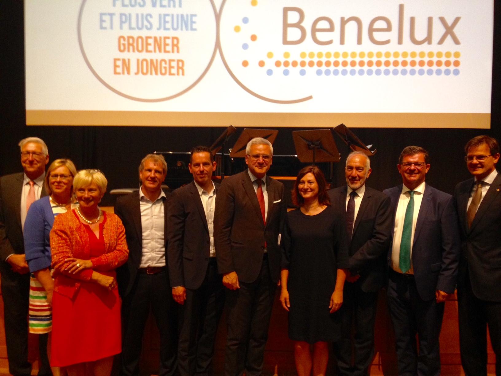 Benelux viert 60ste verjaardag